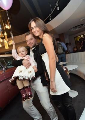 Виталий, Ирина и дочь Милана