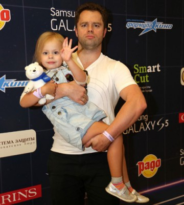 Виталий с дочкой