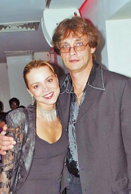 Алексндр и его бывшая жена Наталья Громушкина