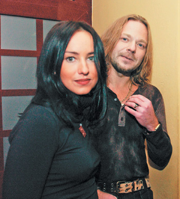 Владимир Пресняков и Лена Ленская, первая жена музыканта