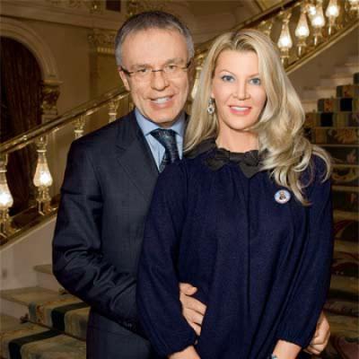 Фетисов и его жена