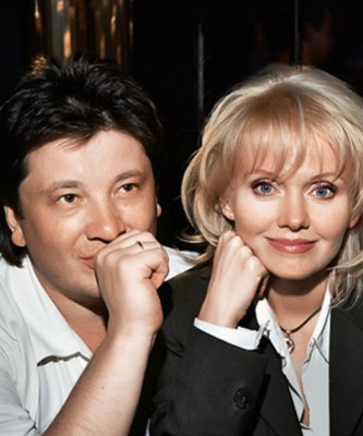 Валерия с бывшим мужем Александром Шульгиным