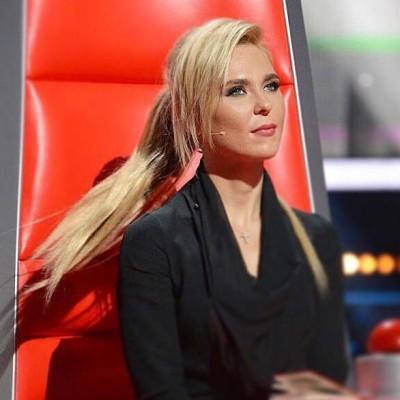 """Член жюри музыкального шоу """"Голос"""" - певица Пелагея."""