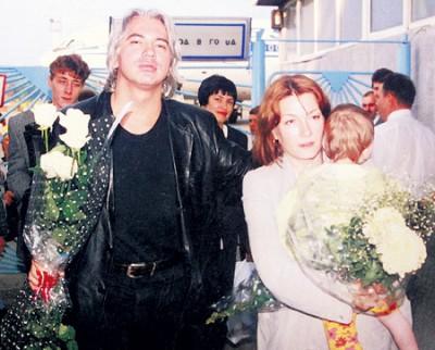 Хворостовский с первой женой Светланой