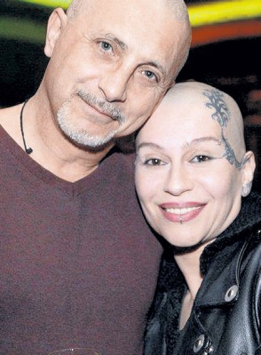 Наргиз Закирова с мужем Филипом Балзано
