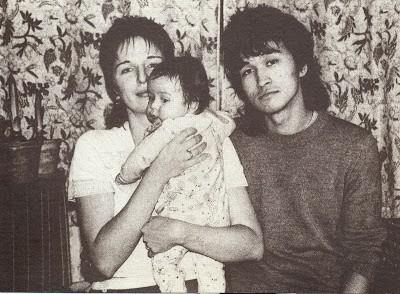 Виктор Цой с женой Марианной