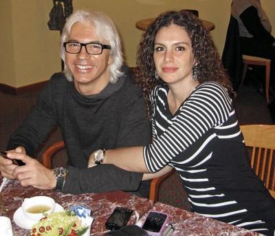Дмитрий с супругой Флоренс Илли