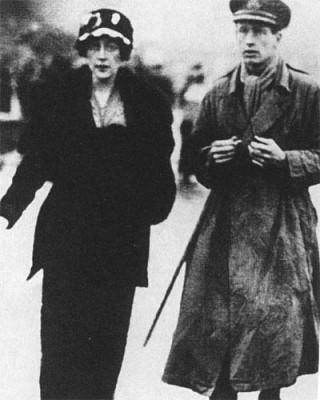 Агата Кристи с первым мужем Арчибальдом