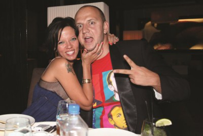 Потап с женой Ириной Горовой