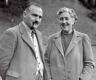 Агата со вторым мужем Максом Маллоуэном