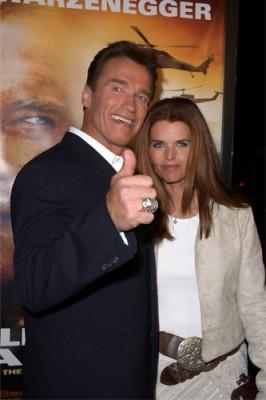 Арнольд Шварцнеггер с бывшей женой Марией Шрайвер