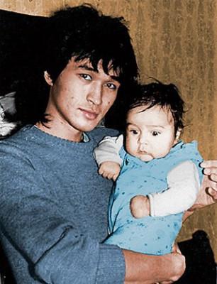 Виктор Цой с сыном
