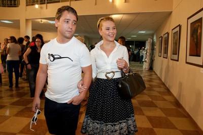Пелагея с бывшим мужем
