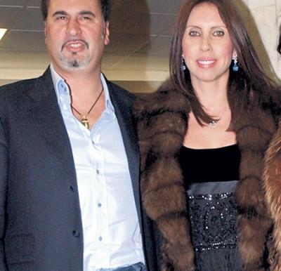 Валерием Меладзе с бывшей женой Ириной
