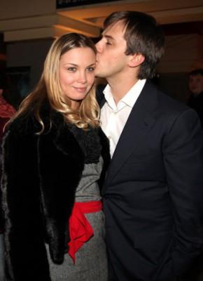 Иван Жидков с бывшей женой