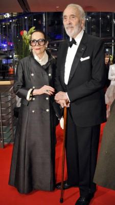 Кристофер Ли более полувека был женат на датской модели Гитте Кренке