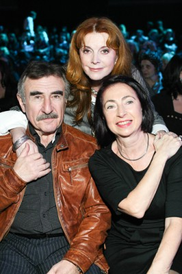 Леонид Каневский с женой и Клара Новикова