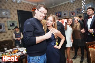 Харламов с женой Кристиной Асмус