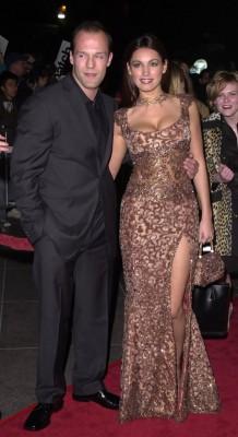 Джейсон Стэтхэм с бывшей женой Келли Брук