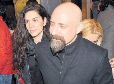 Халит Эргенч и его жена Бергюзар Корель