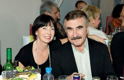 Жена Леонида Каневского