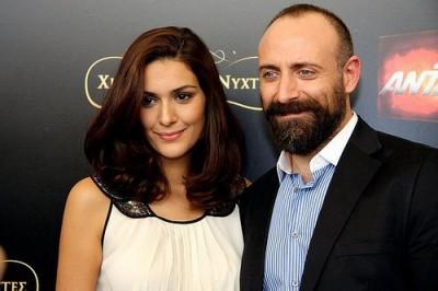 халит эргенч фото с женой