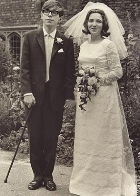 Стивен и его первая жена Джен