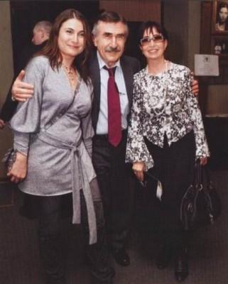 Анна, жена Леонида Каневского и дочь Ефима Березина