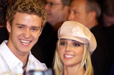 Бритни Спирс с Джастином Тимберлейком
