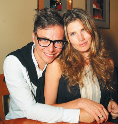 Лагутенко с супругой