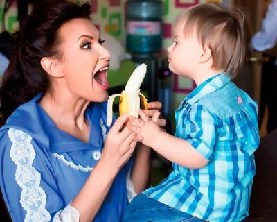 Актриса с сыном