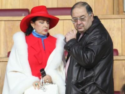 Алишер и его супруга