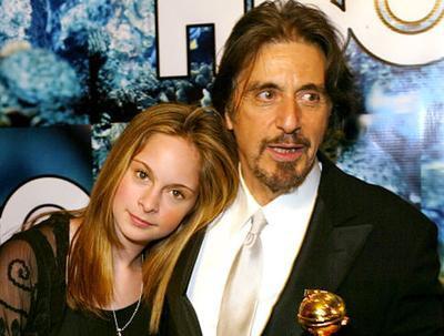 Аль Пачино и его дочь Джули