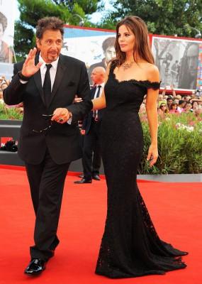 Аль Пачино с женой
