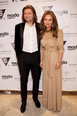 Дмитрий с супругой
