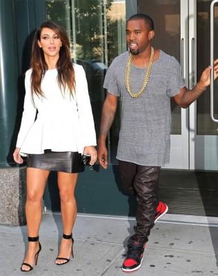 Ким с мужем