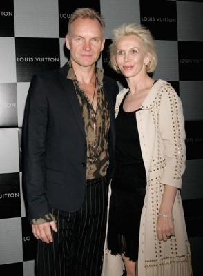 Стинг и Труди Стайлер