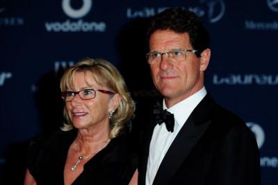 Фабио Капелло и его супруга