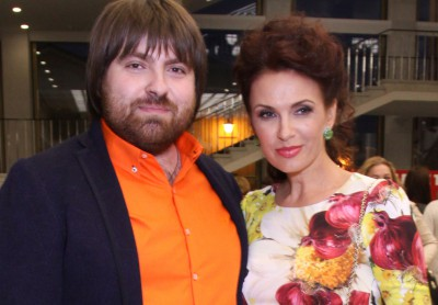 Эвелина Бледанс с мужем Александром