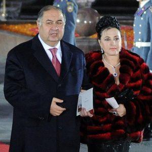Жена Алишера Усманова
