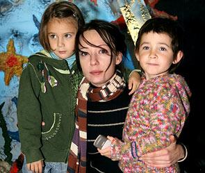 Чулпан Хаматова с детьми