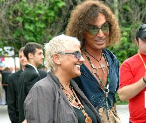 Валерий Леонтьев с супругой