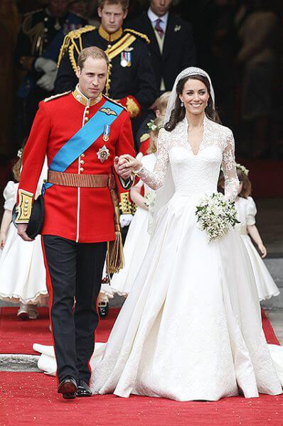 Свадьба Кейт Мидлтон и принц Уильям