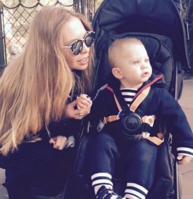 Наталья с сыном