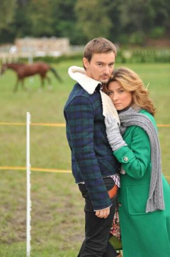 Алан и Жанна с мужем Аланом