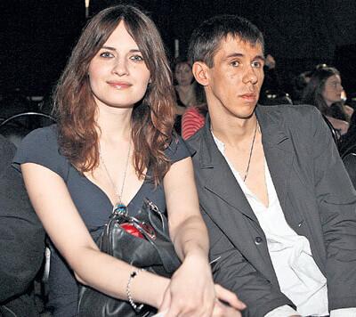 Алексей Панин с первой женой