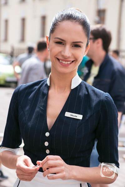 Героиня Дианы Пожарской в сериале СТС «Отель Элеон»