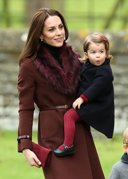 Кейт с дочкой