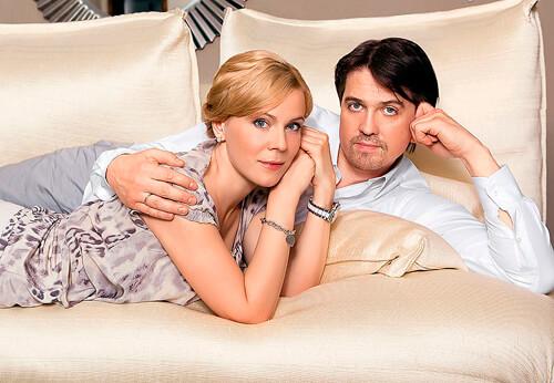 Мария Куликова и бывший муж Денис Матросов