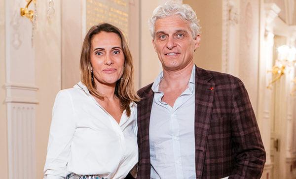 Олег Тиньков с женой